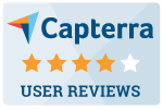 4 stars on Capterra