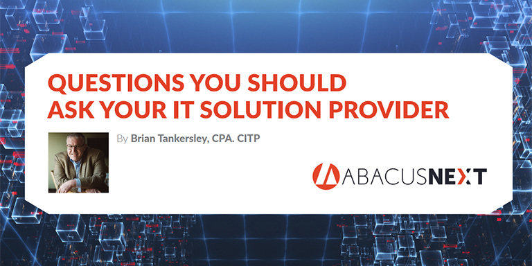 questions to ask your IT provider