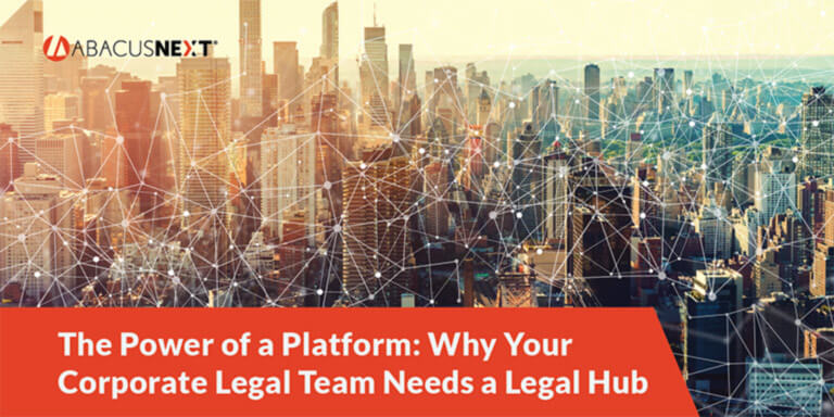 Why Your Corporate Legal Team Needs a Legal Hub