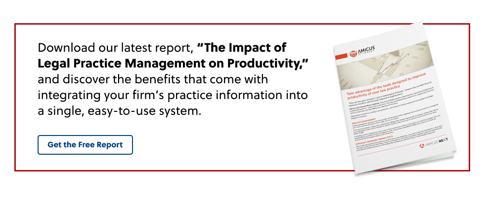 The Impact of Legal Practice Management on Productivity