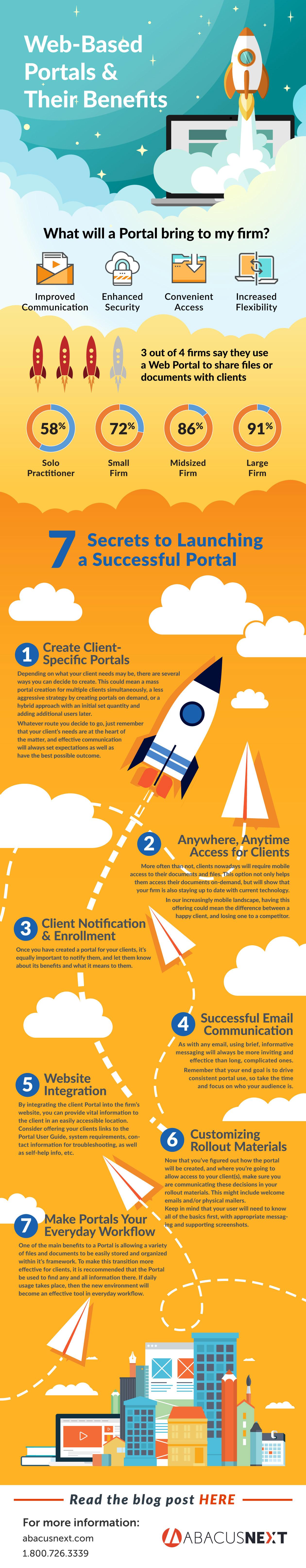 web based client portal