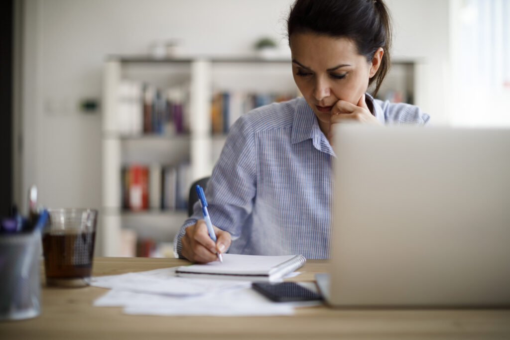 woman-working-from-home-using-legal-video-conferencing-tools